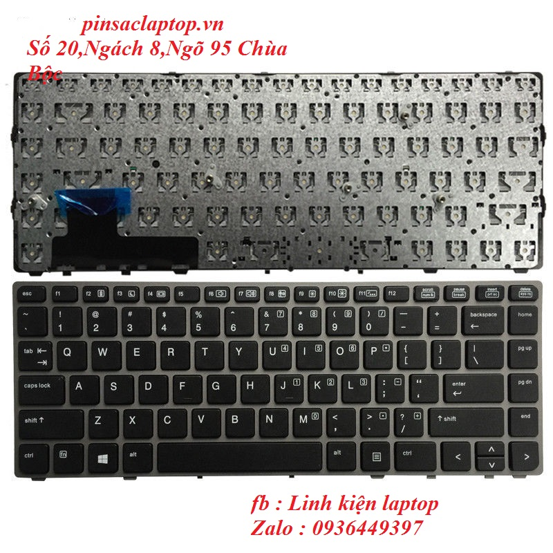 Bàn phím - Keyboard HP EliteBook Folio 9480M