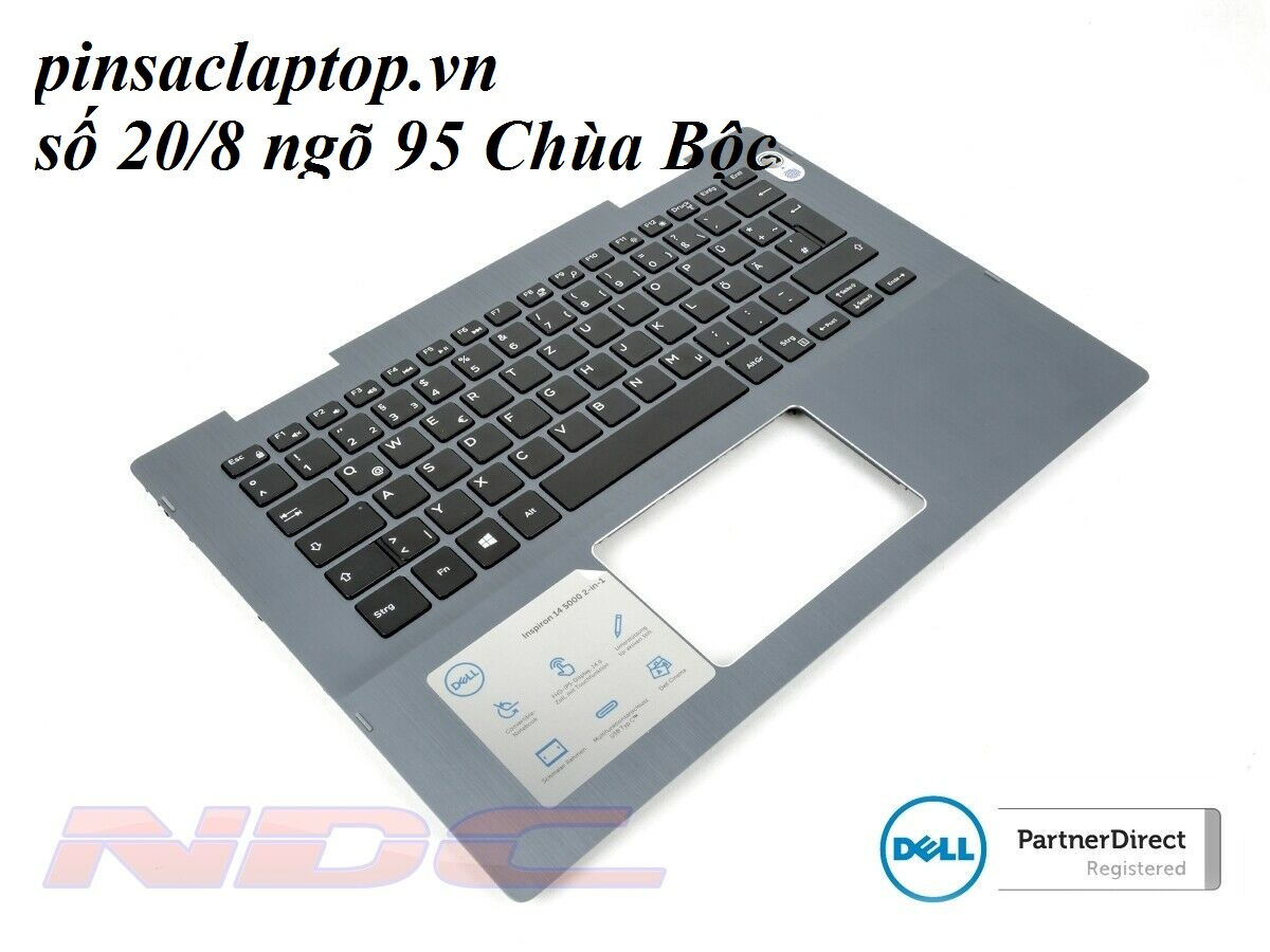 Bàn phím - Keyboard Dell Inspiron 14-5481/5482 Grey