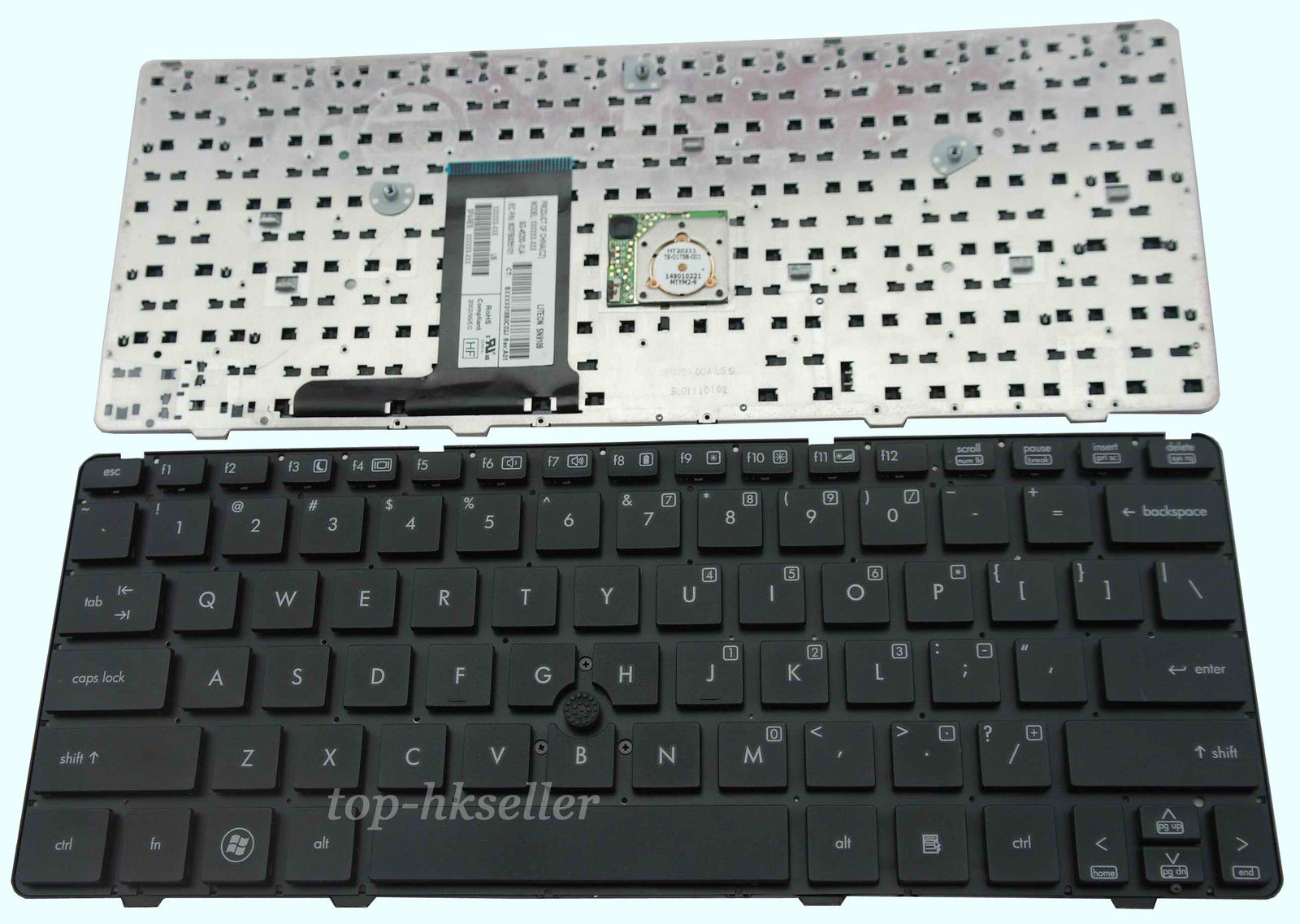 Bàn Phím - Keyboard Laptop HP EliteBook 2560p 2570p