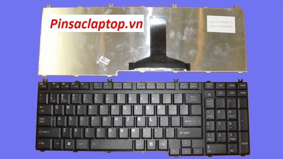 Ban Phim Laptop Toshiba Satellite L775 Keyboard