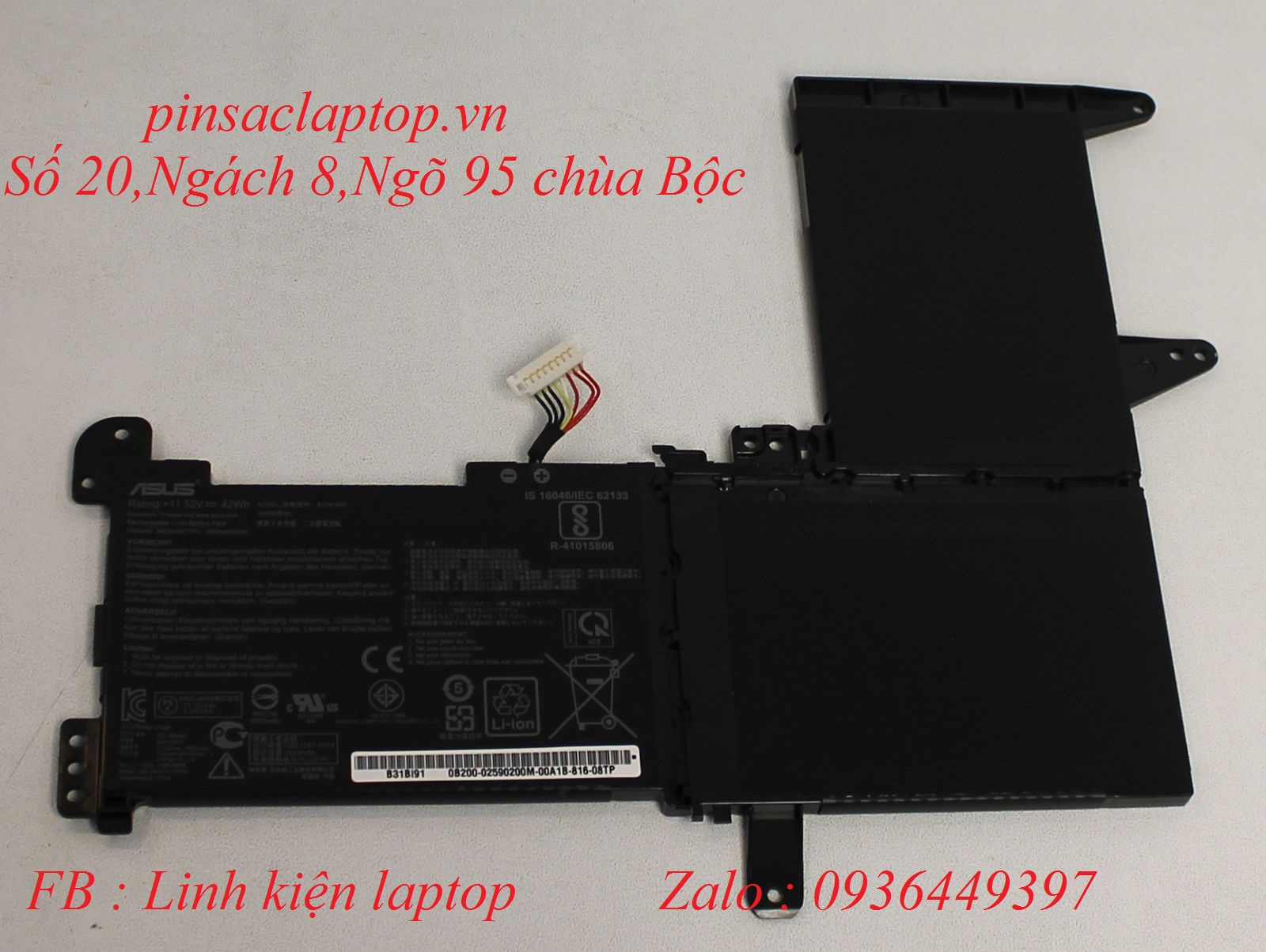 Pin - Battery Asus Vivobook F510UA