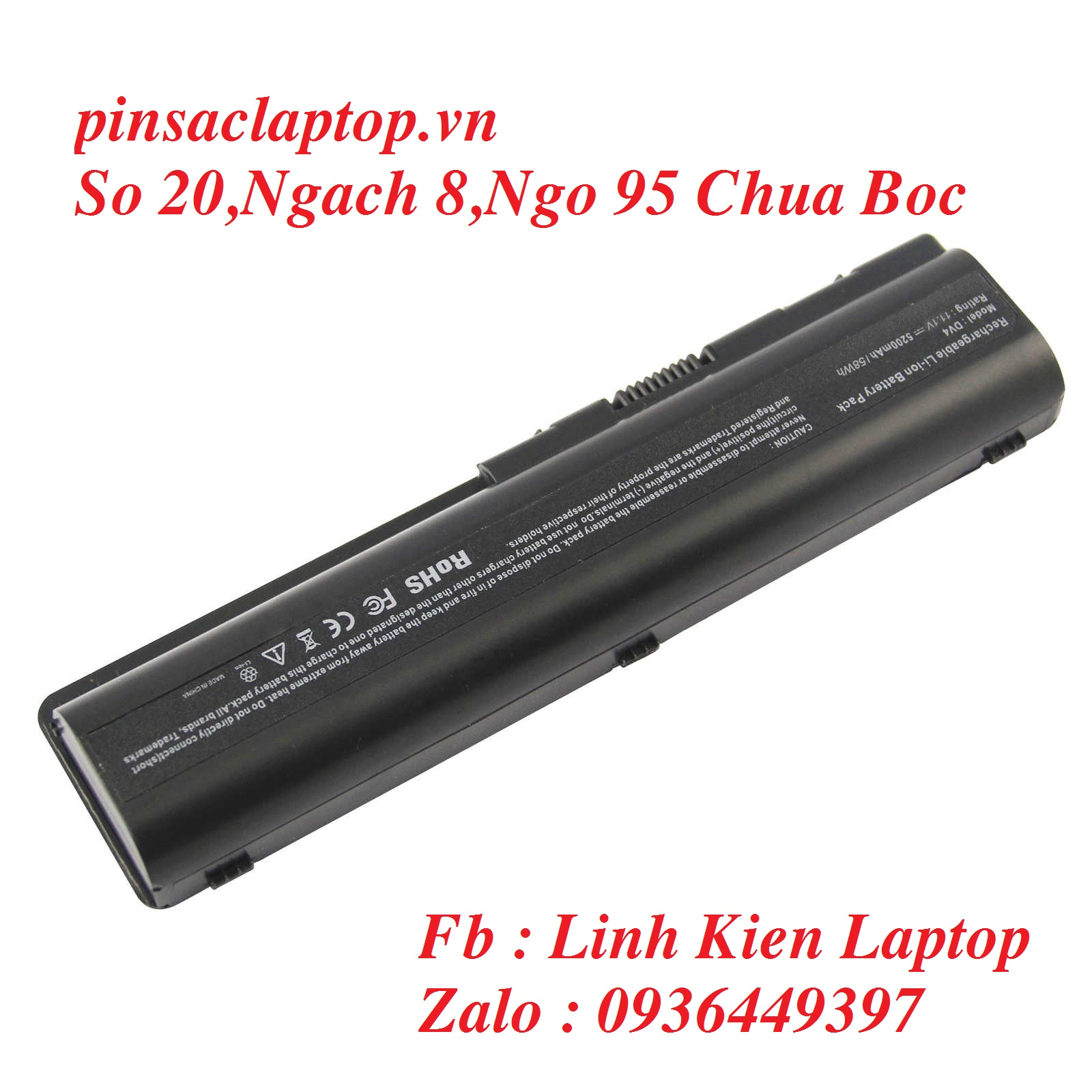 Pin HP - Battery Pavilion DV6 - 1000