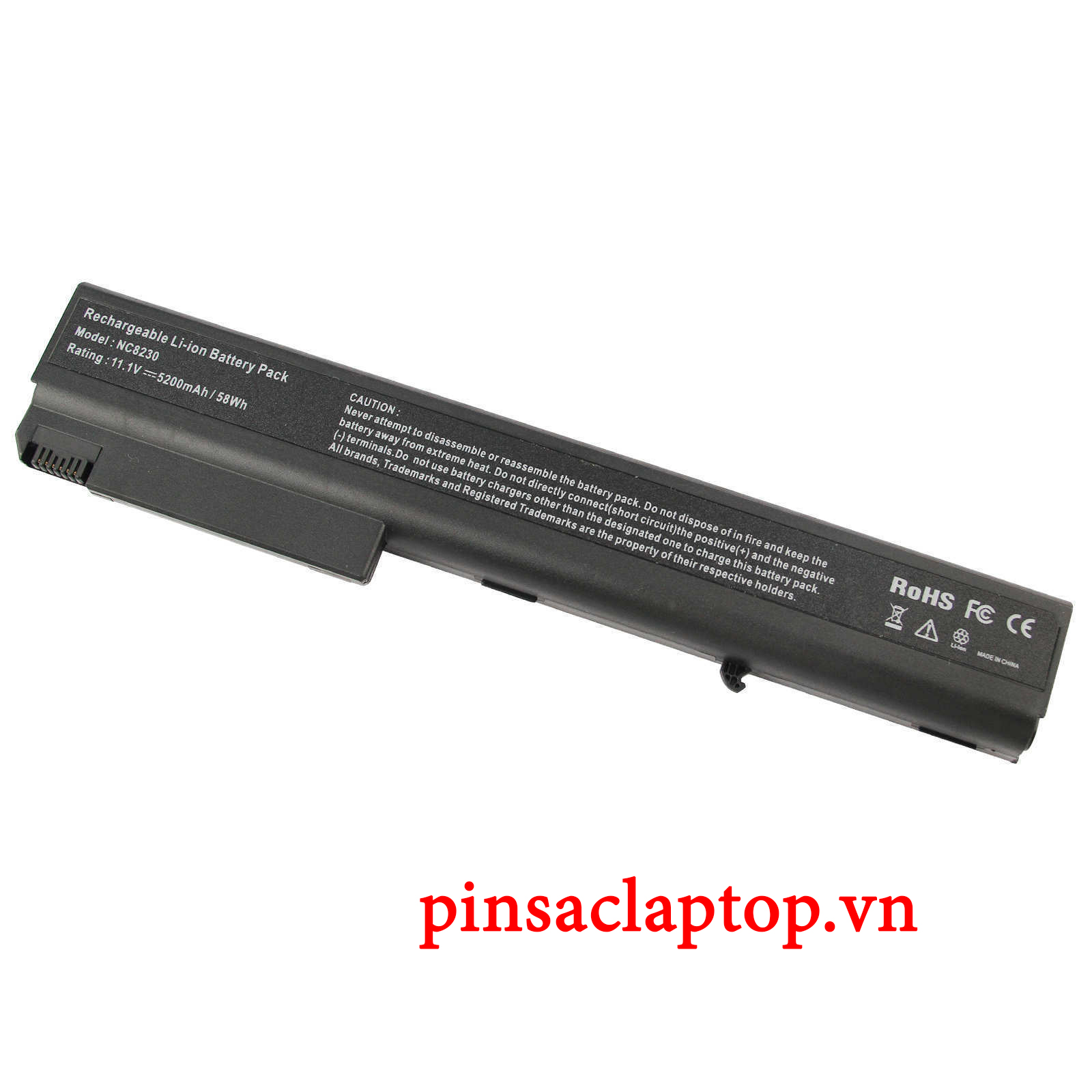 Pin Laptop HP - Baterry For HP Compaq 8510w