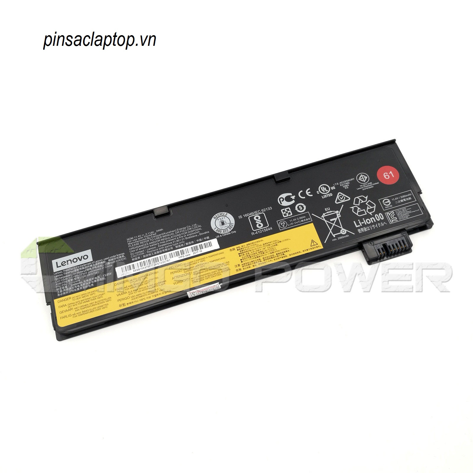 Pin IBM Lenovo Thinkpad- Battery ThinkPad T460, T460p, T470p 3 Cell