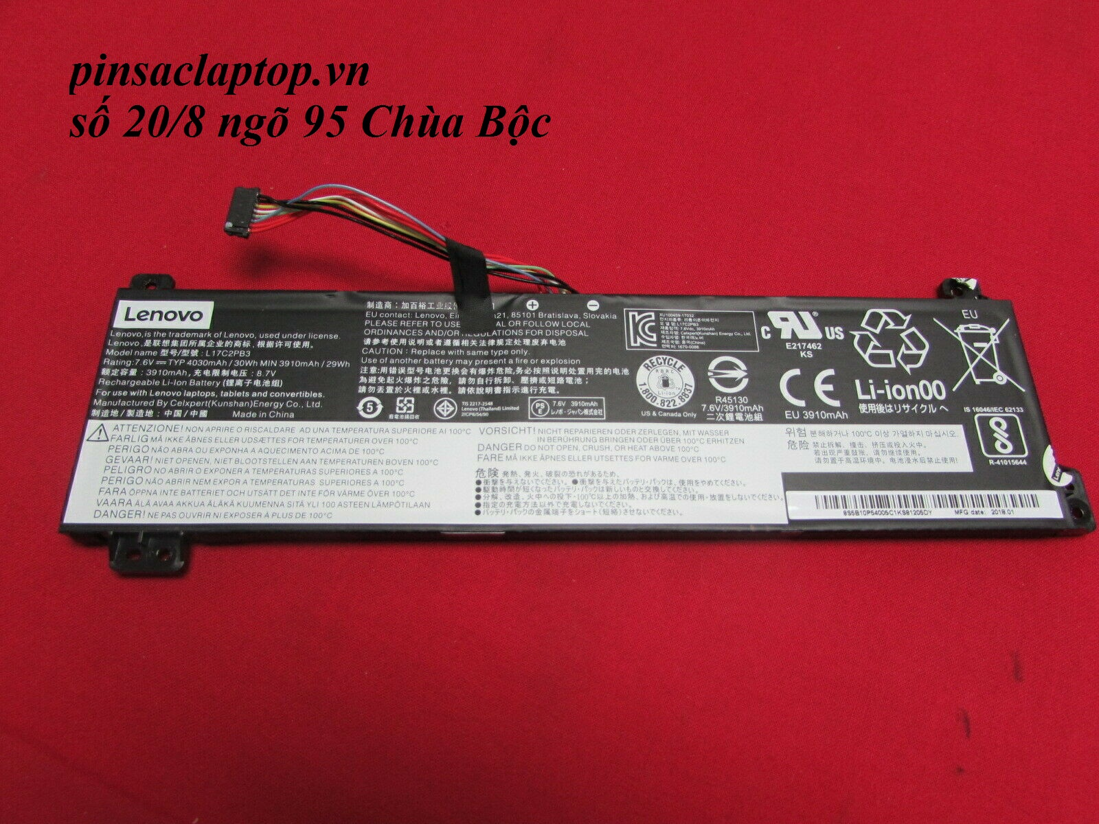 Pin Lenovo - Battery Lenovo  V330-15IKB