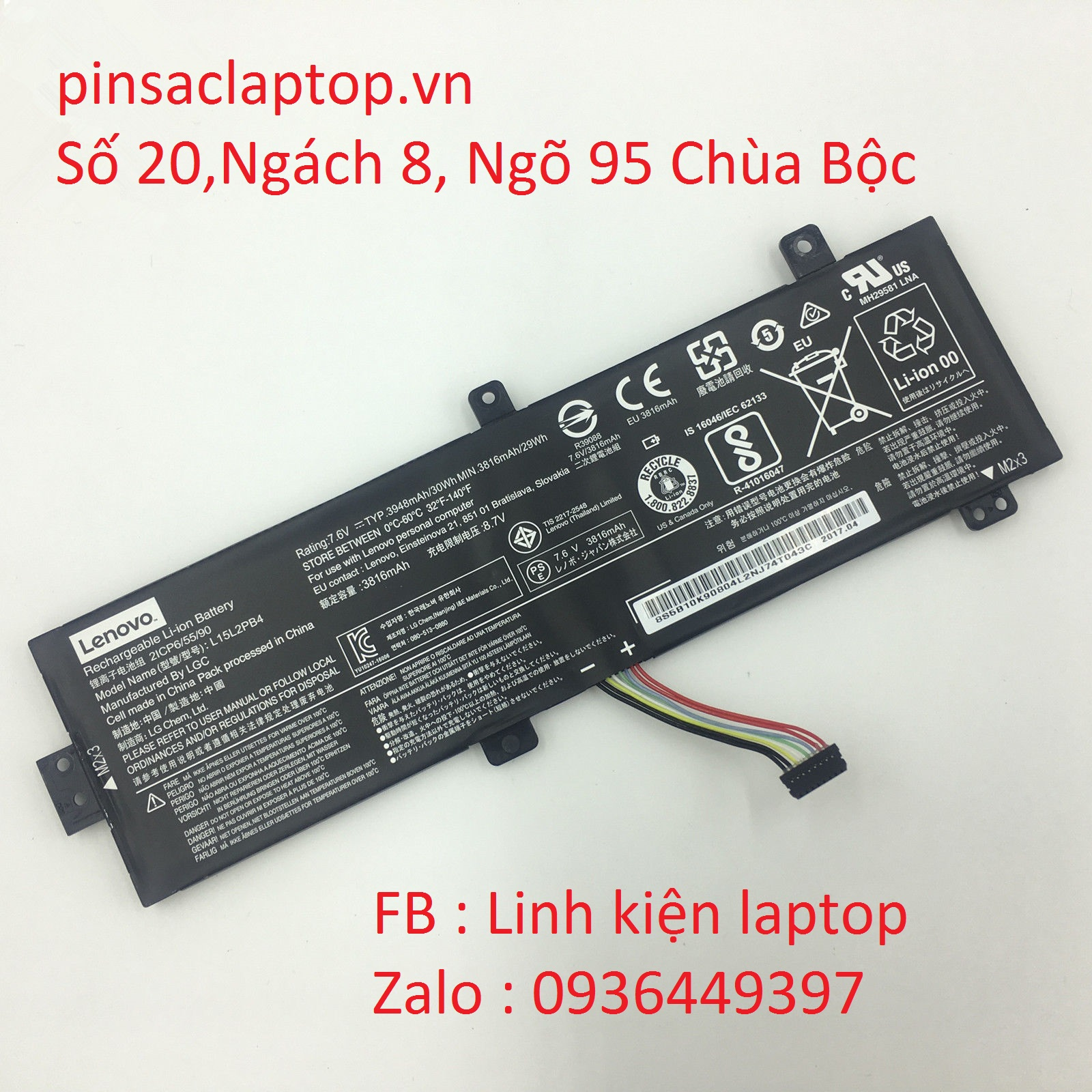 Pin Laptop Lenovo IdeaPad 310-15IAP