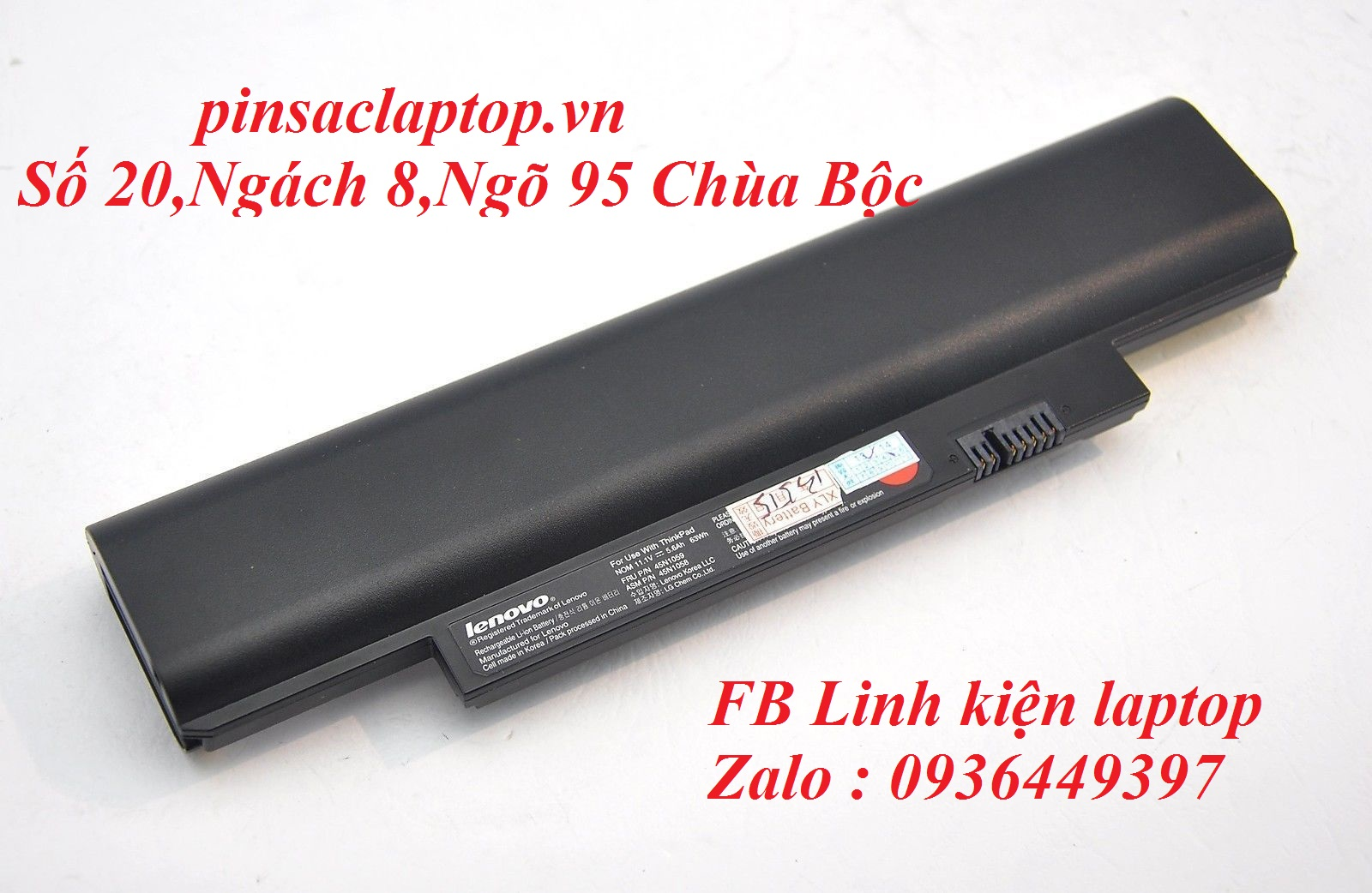 Pin - Battery IBM Lenovo ThinkPad Edge E130