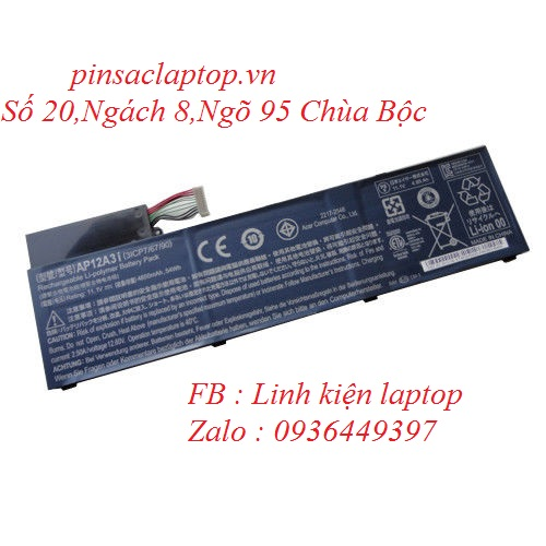 Pin - Battery Acer TravelMate P648-M