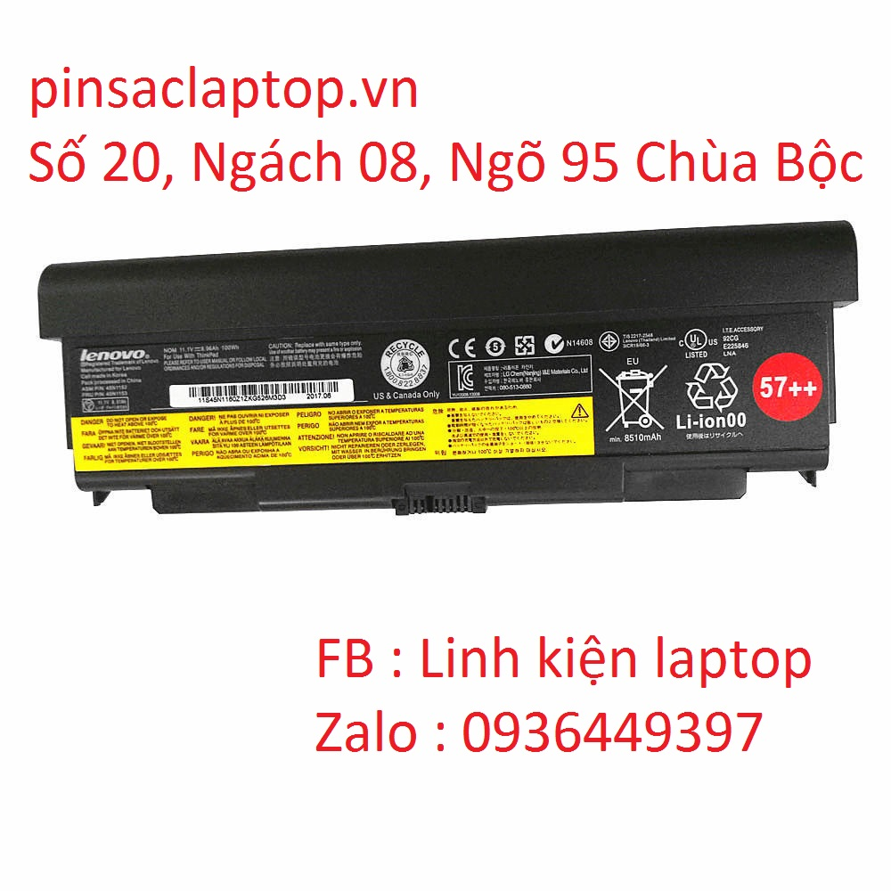 Pin IBM Lenovo Thinkpad T440P 9 Cell