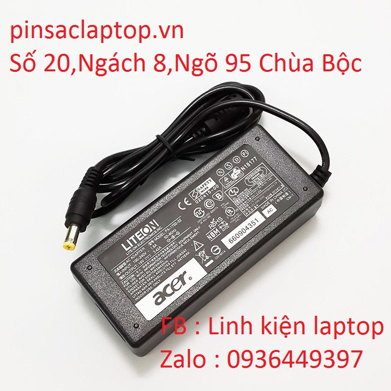 Sạc Adapter Laptop Acer Aspire 5580