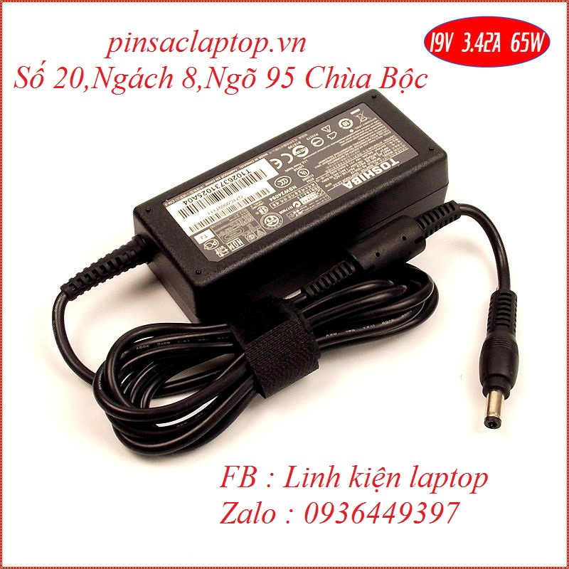 Sạc Adapter Laptop Toshiba Satellite U405
