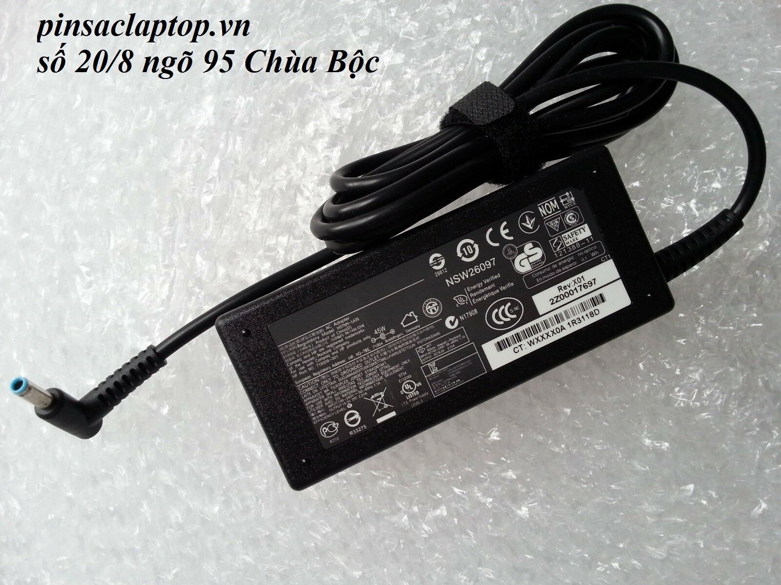 Sạc Adapter Laptop HP 15-da0012dx 15-da0014dx 15-da0032wm 15-da series