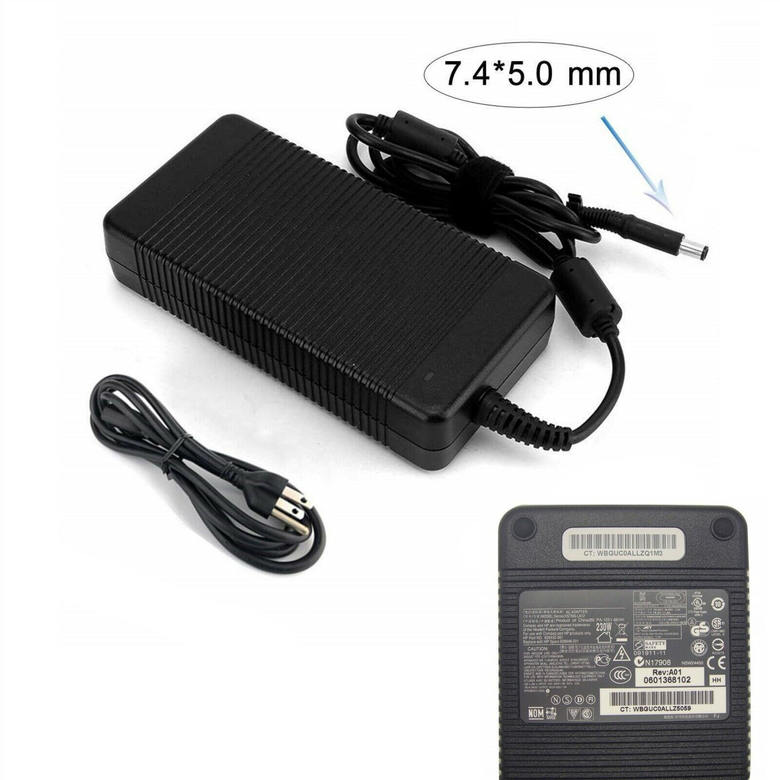 Sạc Adapter Laptop HP 19.5V 11.8A 230W