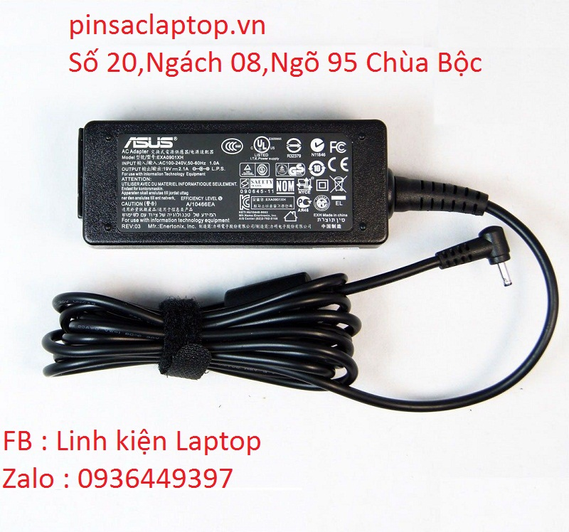 Sạc laptop Asus Eee PC 1005HA