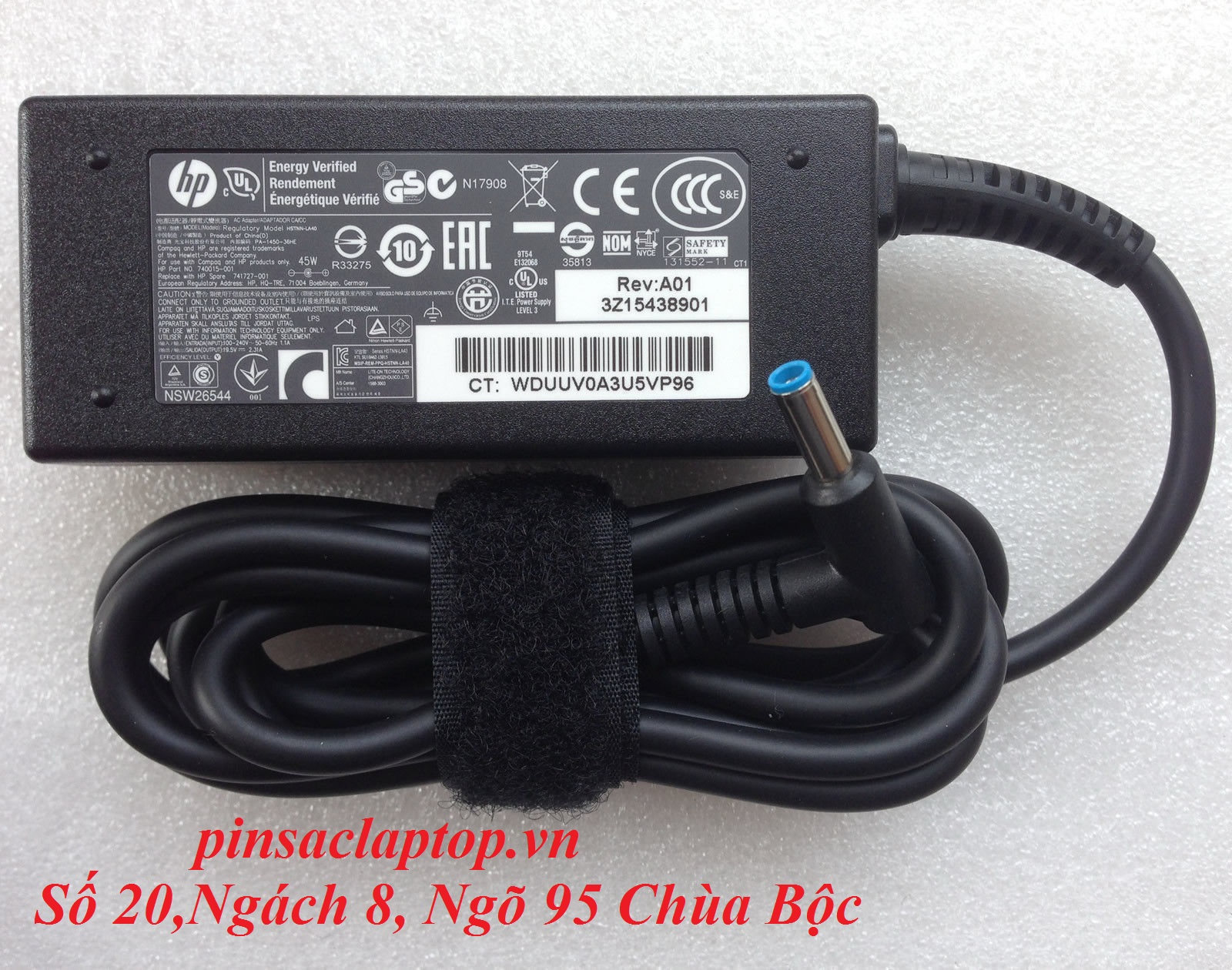 Sạc Adapter Laptop HP EliteBook 840 G4