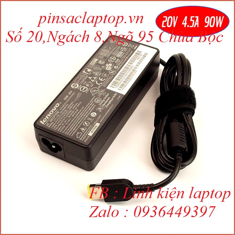 Sạc Adapter Laptop Lenovo Thinkpad T450s 90W