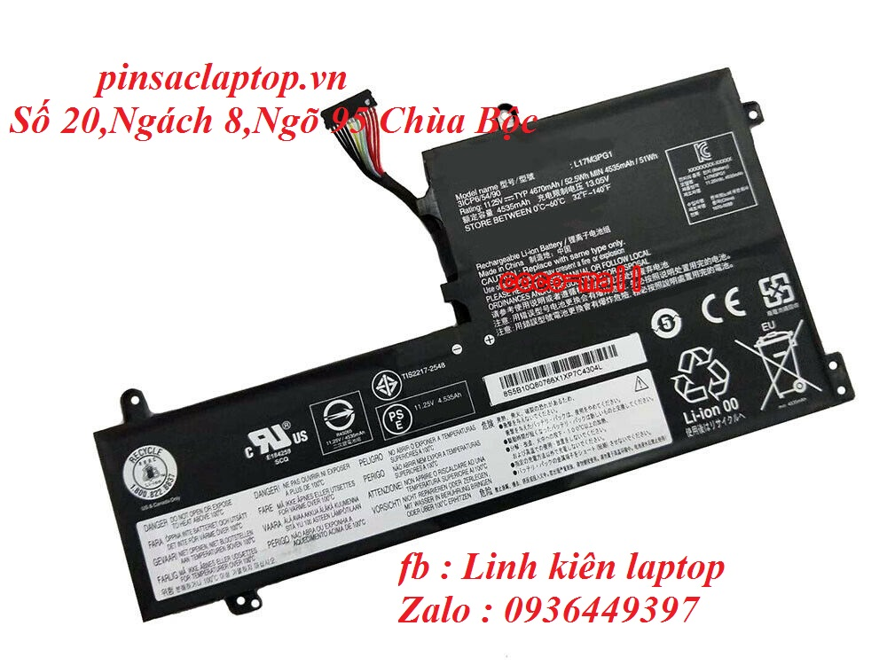Pin - Battery Lenovo Legion Y530-15ICH